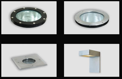 Lamparas led exterior pared images for Lamparas led para exteriores