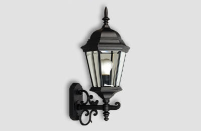 Luminrias para muro externo cmo decorar tu terraza para for Lamparas porche exterior